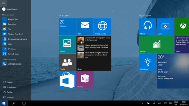 Windows 10 'Threshold 2': Desktop- & Mobile-Updates Ab 12. November