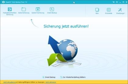 EaseUS Todo Backup Free – Kostenloses Backup-Tool Für Windows